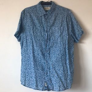 Free Planet floral shirt - Men's Medium